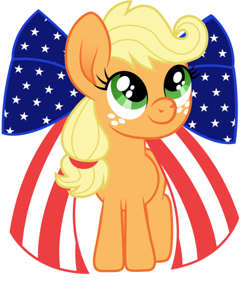 applejack fourth of july america cloudyglow - 9185110016