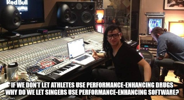 Mixing engineer - Red Bull IFWE DONT LET ATHLETES USE PERFORMANCE-ENHANCING DRUGS WHY DO WE LET SINGERS USE PERFORMANCE-ENHANCING SOFTWARE? mgtip.com