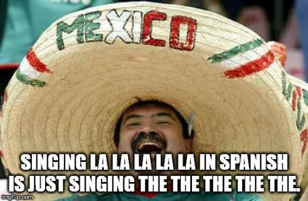 Photo caption - EXED SINGING LA LA LA LA LA IN SPANISH ISJUST SINGING THE THE THE THE THE ingilp.com