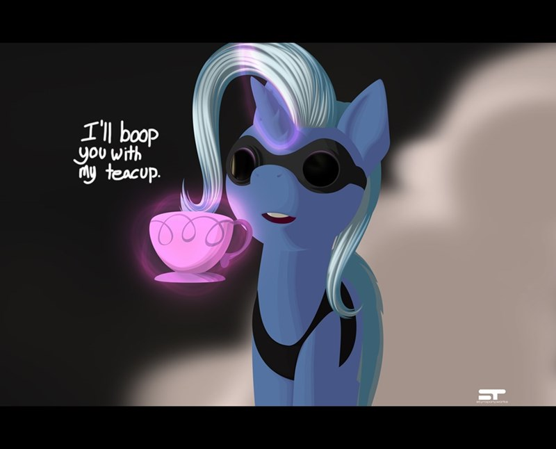 teacup the great and powerful trixie boop Memes ponify - 9185548544