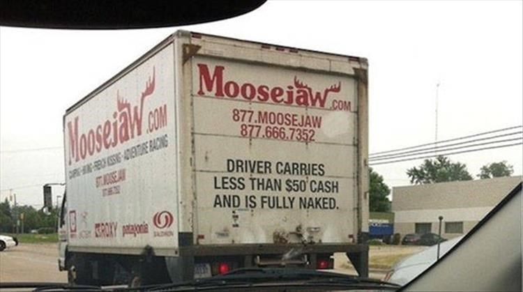 Motor vehicle - Mooseiaw COM 877.MOOSEJAW 877.666.7352 COM Moowidn ESIG ENTRERACING STSEA DRIVER CARRIES LESS THAN $50 CASH AND IS FULLY NAKED. SROAY SADON