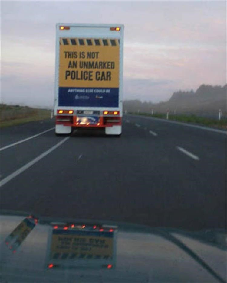 Highway - THIS IS NOT AN UNMARKED POLICE CAR