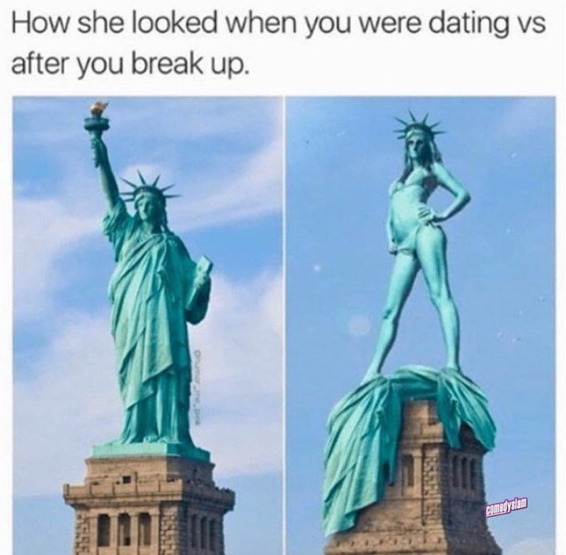 dating memes funny memes Statue of Liberty Memes the statue of liberty dating breakups - 9185917696