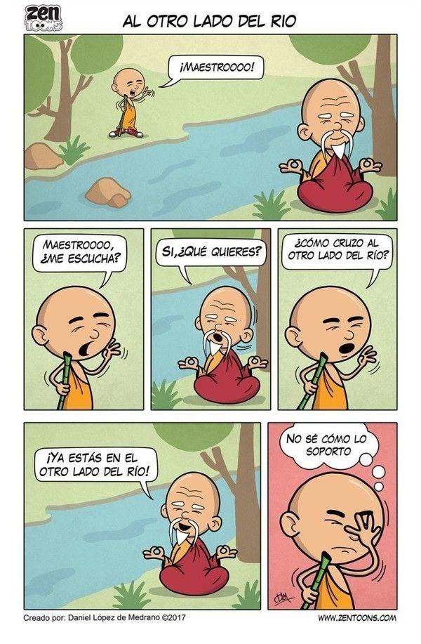 cuando le preguntas a un sabio como cruzar el rio