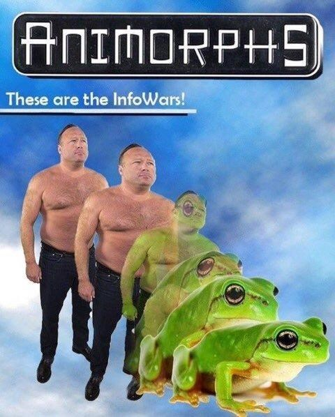 Amphibian - ANIMORPHS These are the InfoWars!