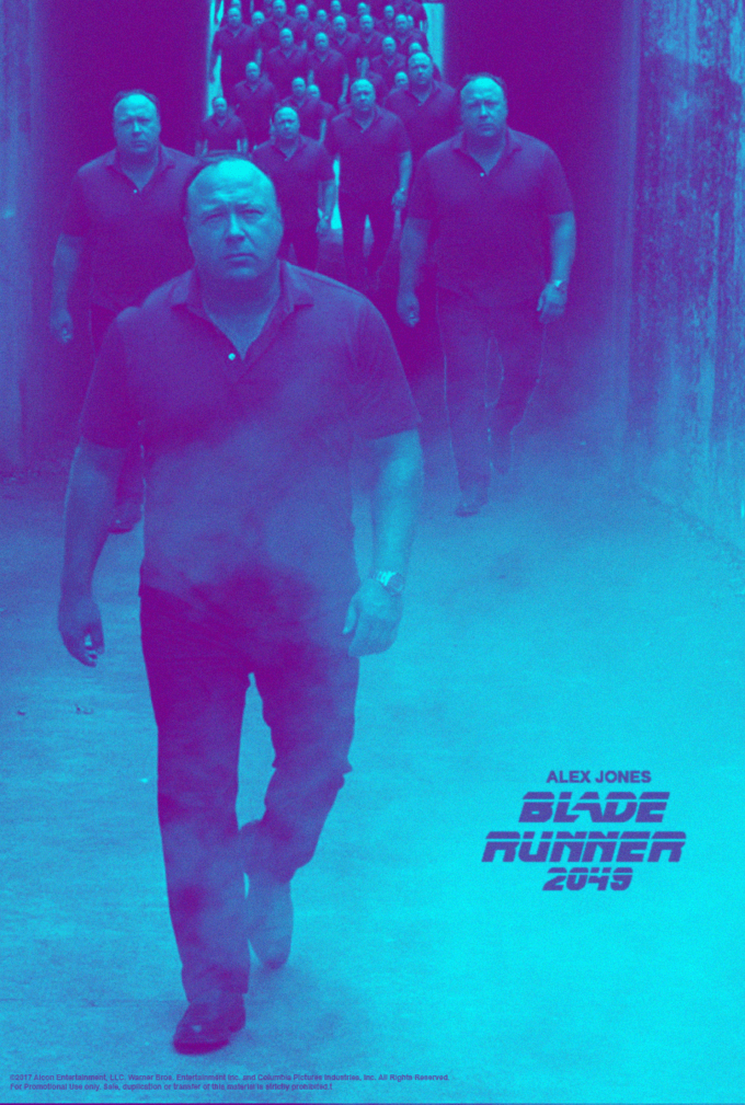 Blue - ALEX JONES BLADE AUNNER 2045 02017 Alcon Entartainment, LLC. Warnar Bros. Entertalnment inc and Columbia Picturee tndustries, Inc. All Rights Raserved for Promotional tse only Sals, dupeston or tranaer or this malrttetdy pron r