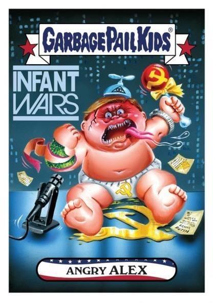 Cartoon - GARBAGE PAILKIPS INFANT WARS UTIN ANGRY ALEX