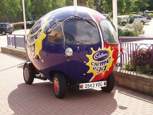 Motor vehicle - HTe Cabory cremme egg 0943 VOG
