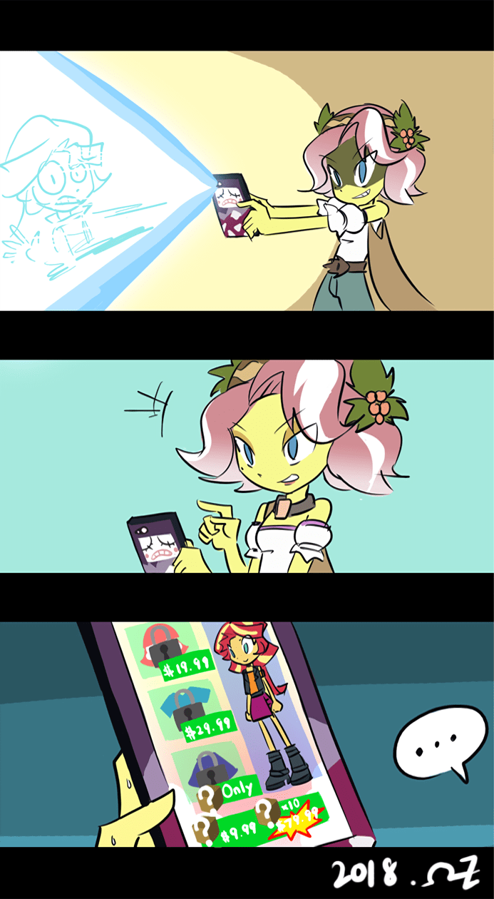 vignette valencia equestria girls rvceric rollercoaster of friendship comic sunset shimmer - 9186880512