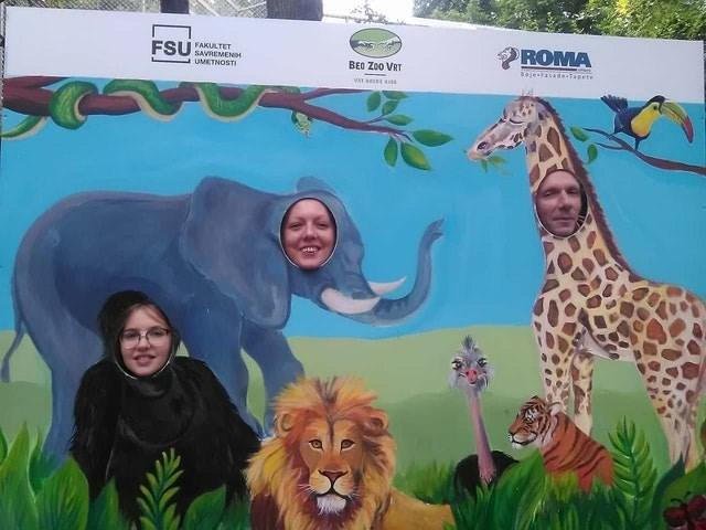 Wildlife - ROMA FSU FAKULTET SAVREMEND UMETNOSTI BEO Zoo VRT jeasadenlapete