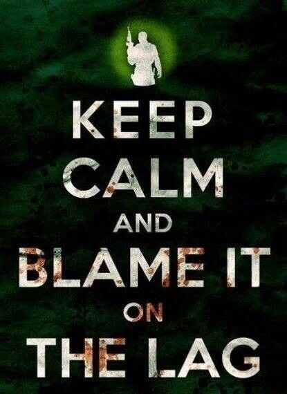 Font - ΚΕEP CALM AND BLAME IT ON THE LAG