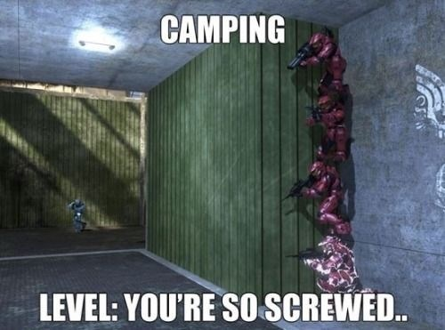 Action-adventure game - CAMPING LEVEL: YOU'RE SO SCREWED..