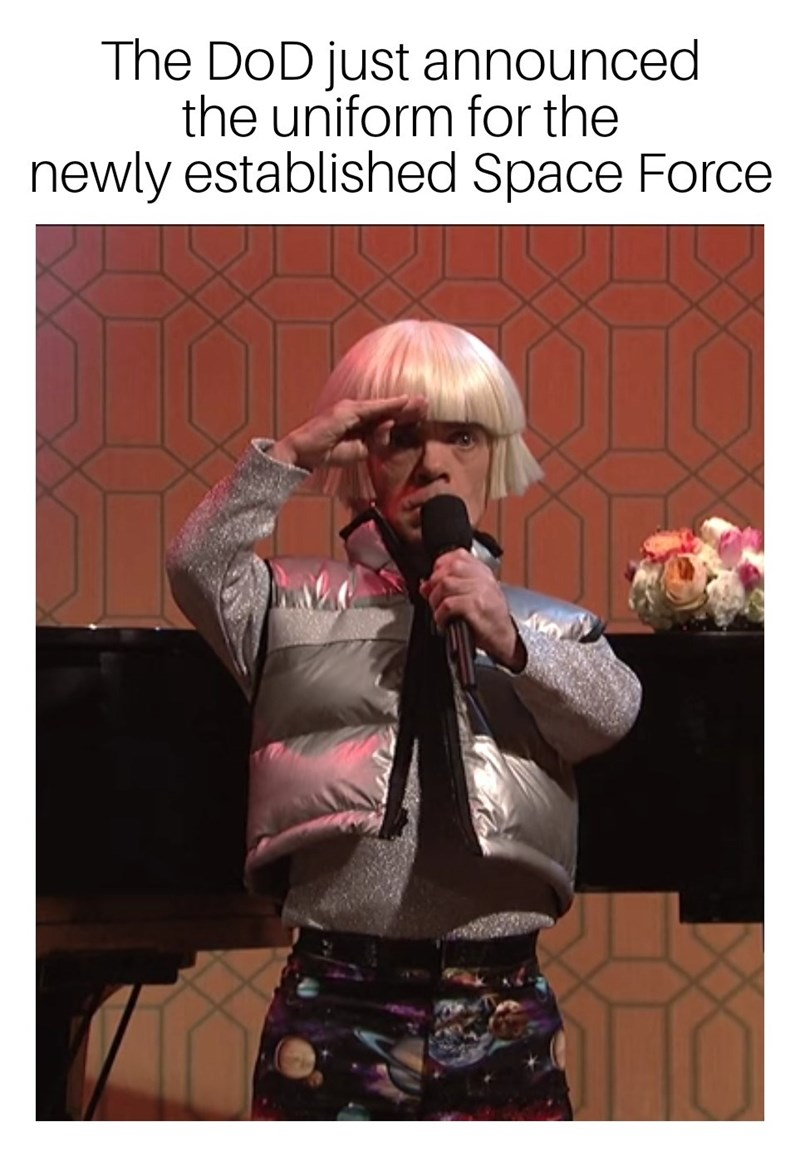 Text - The DoD just announced the uniform for the newly established Space Force