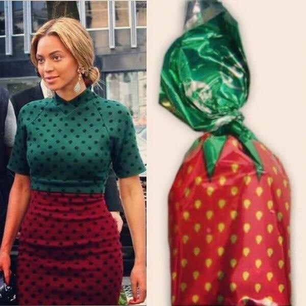 who wore it better - Green