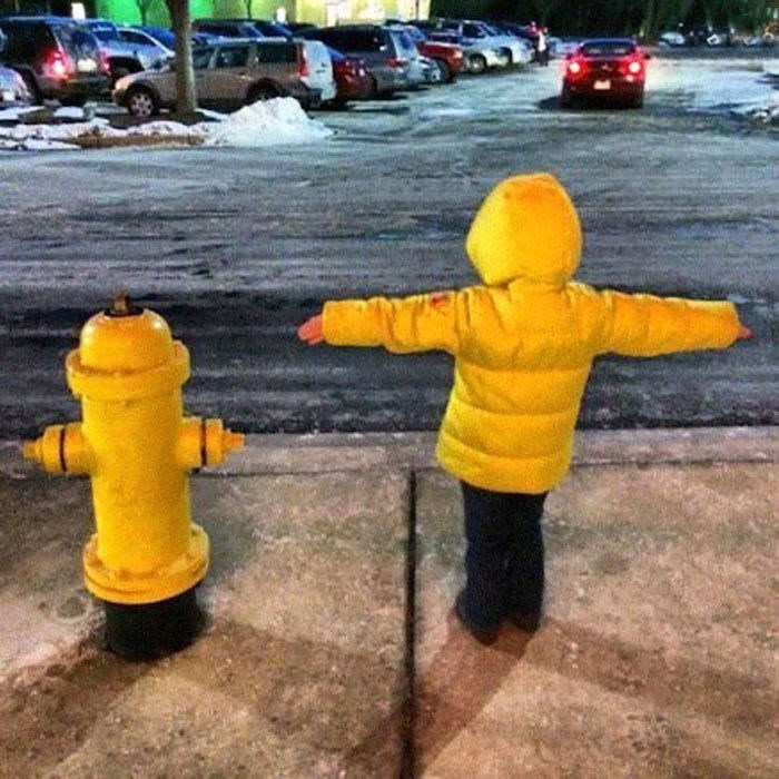 who wore it better - Fire hydrant