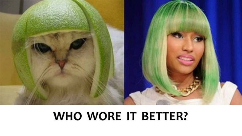 who wore it better - Hair - WHO WORE IT BETTER?