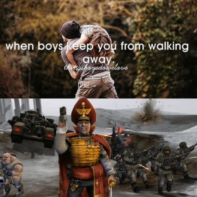Action figure - when boys keep you from walking away rgineysdariclove CH SERIES