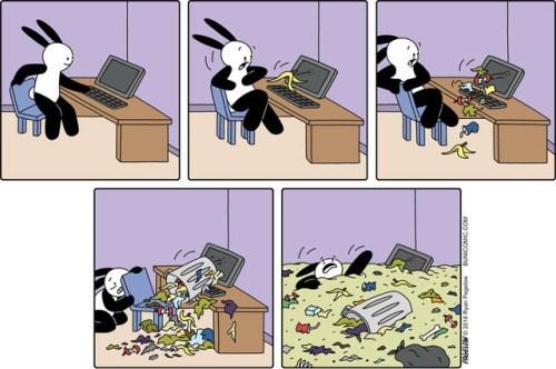 cuando abres internet y solo encuentras basura