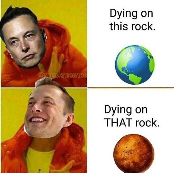 Planet - Dying on this rock Omuskmemes Dying on THAT rock