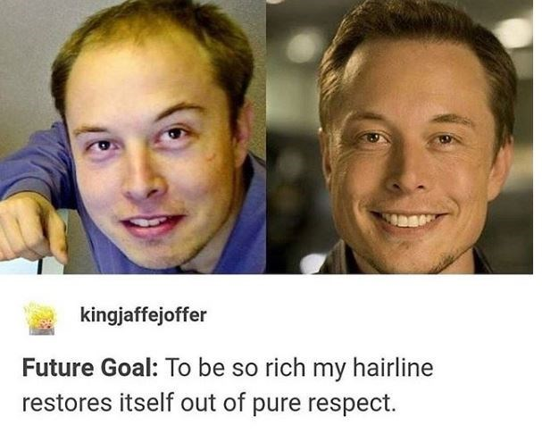 Face - kingjaffejoffer Future Goal: To be so rich my hairline restores itself out of pure respect.