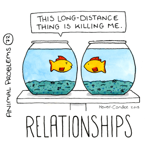 Text - THIS LONG-DISTANCE THING IS KILLING ME. Hewer-Candee zo15 RELATIONSHIPS ANIMAL PROBLEMS (72)