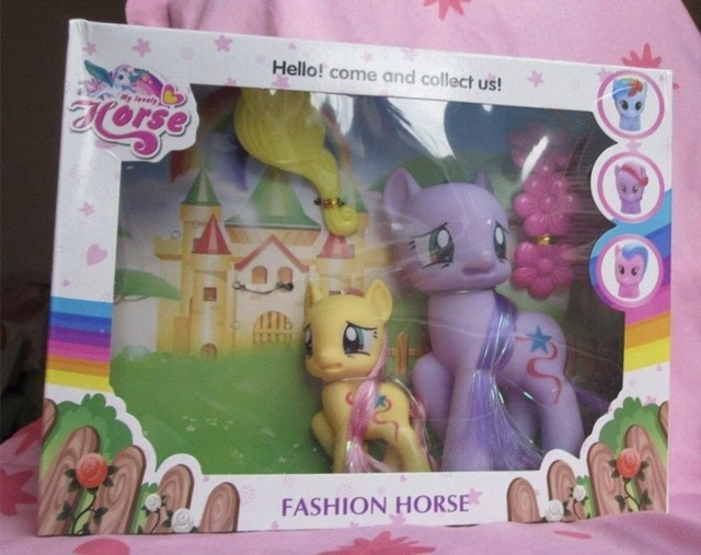 Pink - Hello! come and collect us! Ry lvely llb FASHION HORSE
