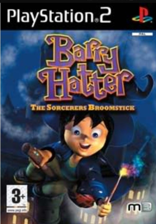 Action-adventure game - PlayStation.2 Barg Halter THE SORCERERS BROOMSTICE 3-