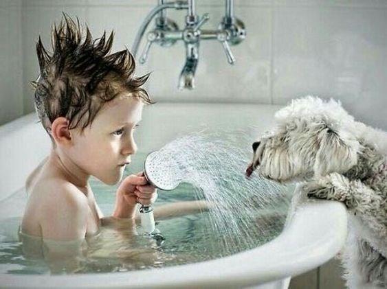thirsty - Bathing