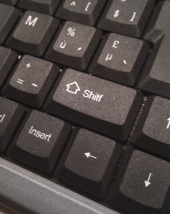 Computer keyboard - $ ] Shitf Insert 96 11