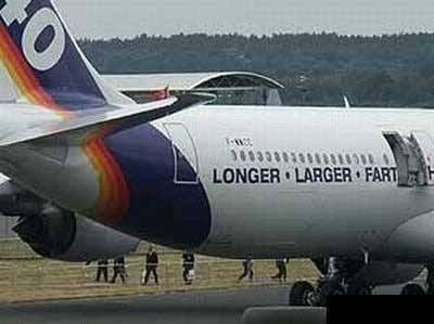 Airline - LONGER LARGER FART