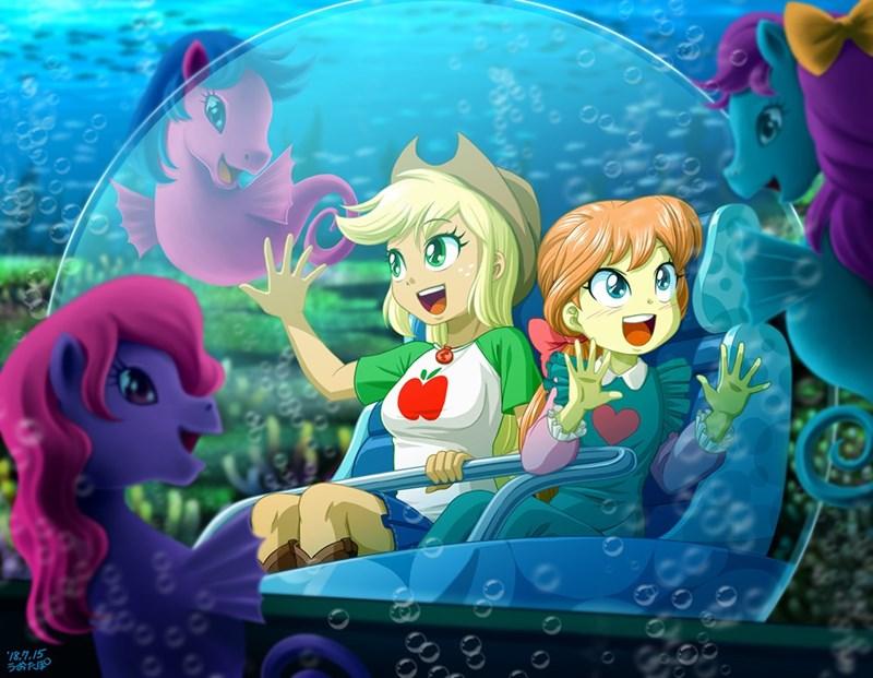 applejack equestria girls g1 seaponies megan williams rollercoaster of friendship uotapo - 9190125568