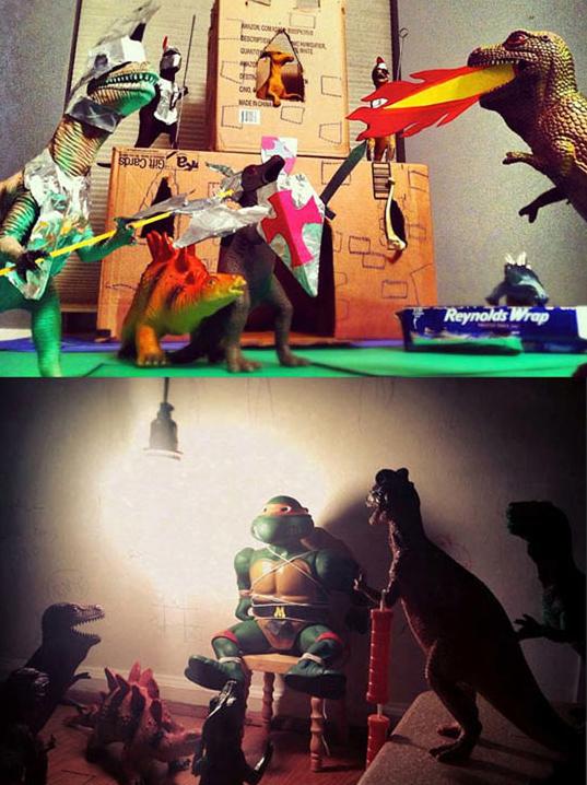 Dinosaur - O PO CNO MADENO a Gift Cards Reynolds Wrap