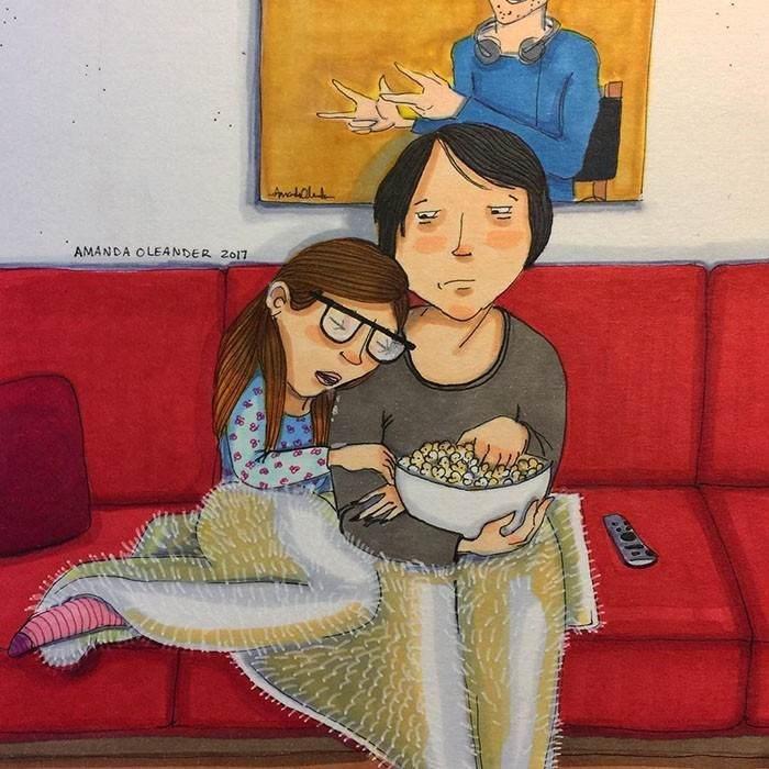 Cartoon - AMANDA OLEANDER 2o17