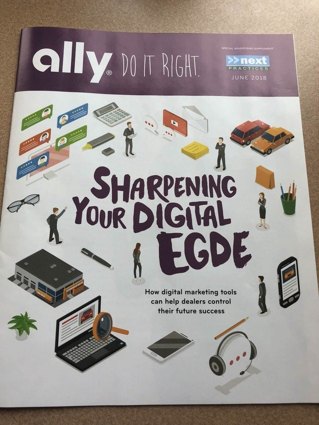 Electronics - ally Do IGT SPECIAL ARVERTISING SUuerEMENT >next PRACTICES JUNE 2018 SHARPENING YOUR DIGITAL & EGDE How digital marketing tools can help dealers control their future success