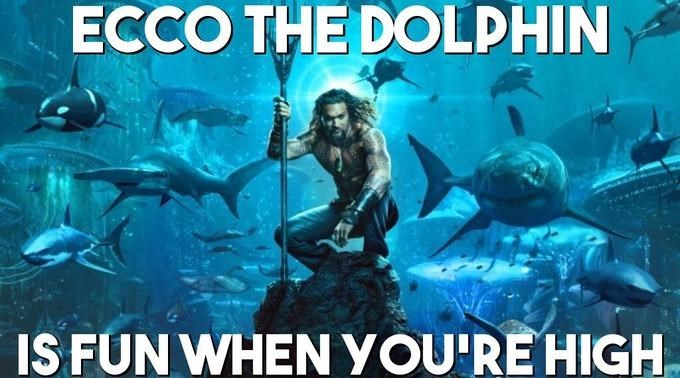 Movie - ECCO THE DOLPHIN IS FUN WHEN YOU'RE HIGH