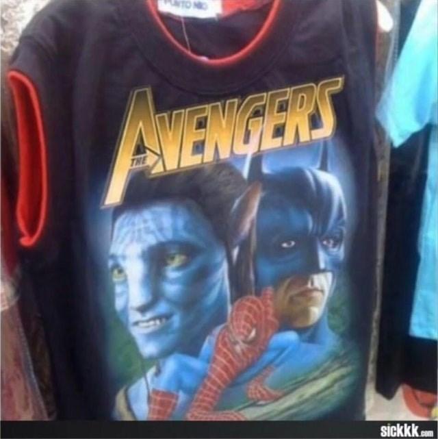 T-shirt - AVENGERS THE sickkk com