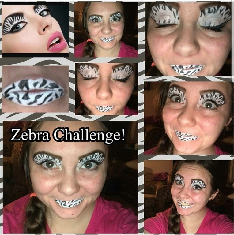 Face - Zebra Challenge!