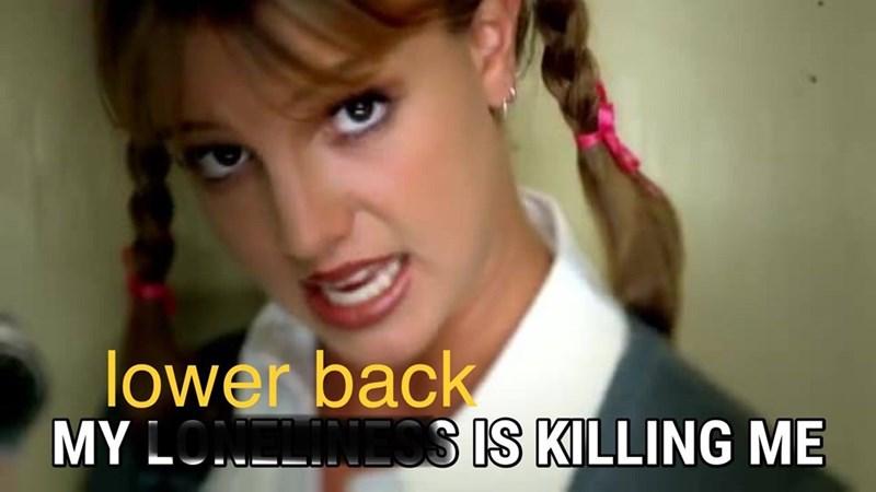 meme - Hair - lower back MY LONELINE OS IS KILLING ME