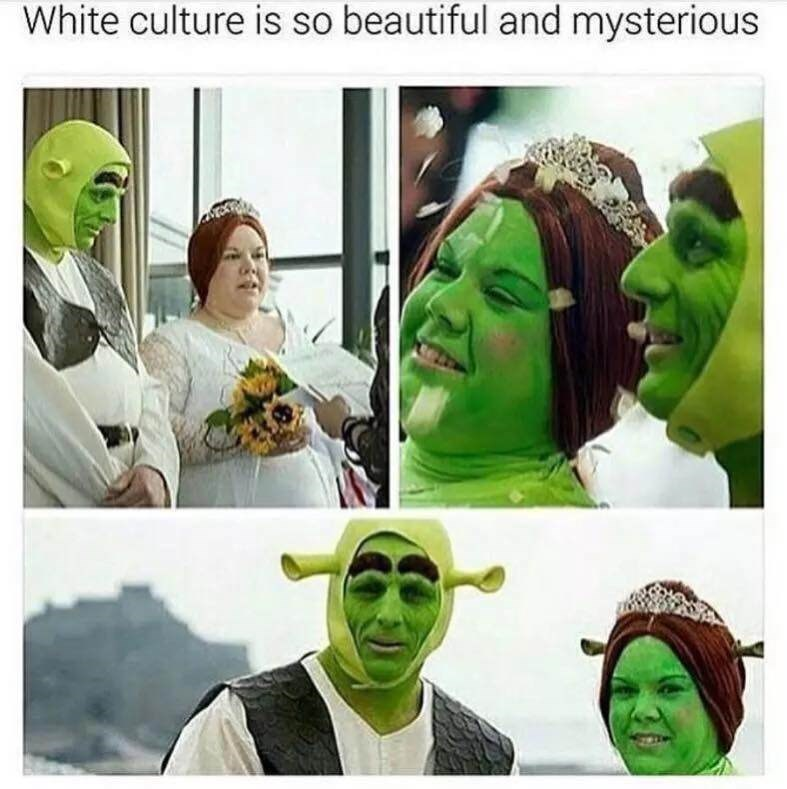 Green - White culture is so beautiful and mysterious