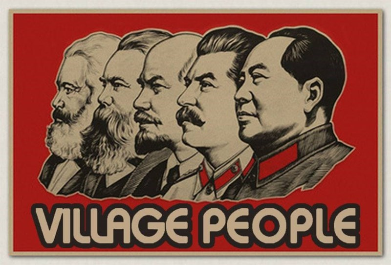 music meme - Poster - VILLAGE PEOPLE