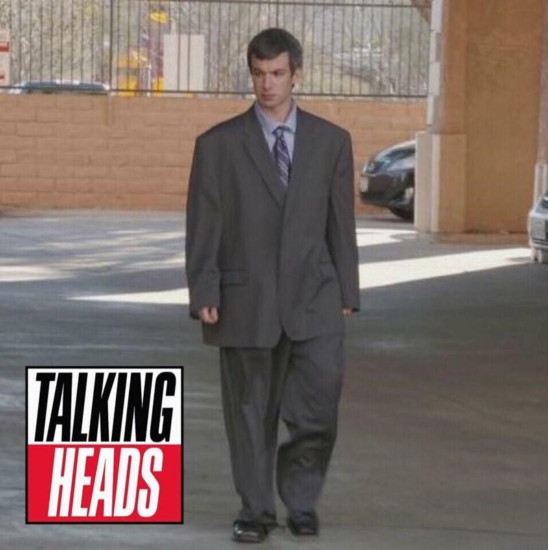 music meme - Suit - TALKING HEADS