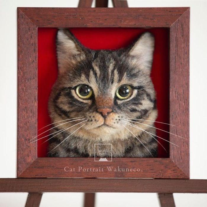 Cat - Woke neco Cat Portrait Wakuneco