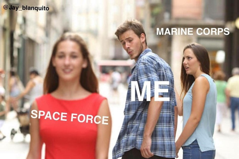 People - @Jay blanquito MARINE CORPS ME SPACE FORCE