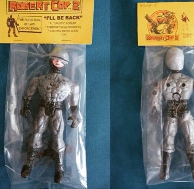 "Action figure - FOKERT COR THE FURNITURE""PLL BE BACK"" FUTURUSTIC RCBERT TERMINATOR (AUTOBOTIC) EXCITING MOVIE LOOK OF LAW ENFORCEMENT TOY"