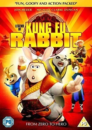 "Animated cartoon - ""FUN, GOOFY AND ACTION PACKED"" JON HEDER MICHAEL CLARKE DUNCAN KUNG FUX BABBI LEGEND OF PG FROM ZERO TO HERO"