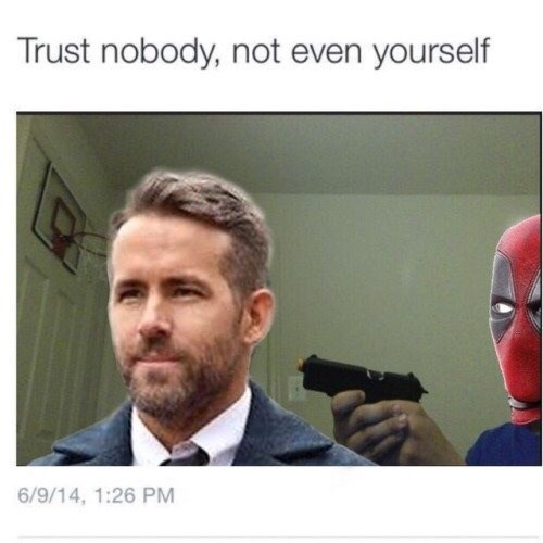 Nose - Trust nobody, not even yourself 6/9/14, 1:26 PM