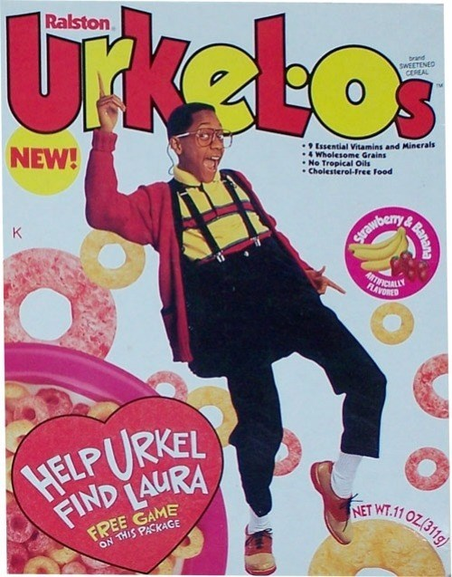 Magazine - Tkelo Ralston brand SWEETENED CEREAL NEW! 9 Essential Vitamins and Minerals 4 Wholesome Grains No Tropical Oils Cholesterol-Free Food K Excawbernye ARTFICALS FLAVORED HELPURKEL FIND LAURA FREE GAME ON THIS PASKAGE NET WT.11 OZ/311 Banana