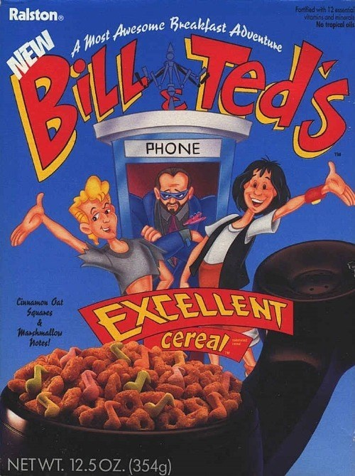 Breakfast cereal - Ralston Forted with 12 essential viamins and ninerals No tropical ols NEW AMost Avesome Breaklast Adventune PHONE Cinnamon Oat ECELLENT cereal Squares Marshmallow Notes! Teind NETWT. 12.5OZ. (354g)