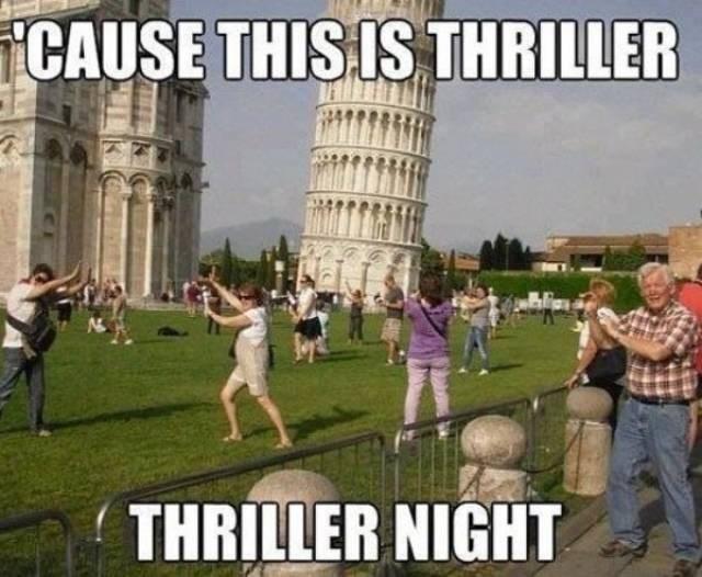 Landmark - CAUSE THIS IS THRILLER THRILLER NIGHT