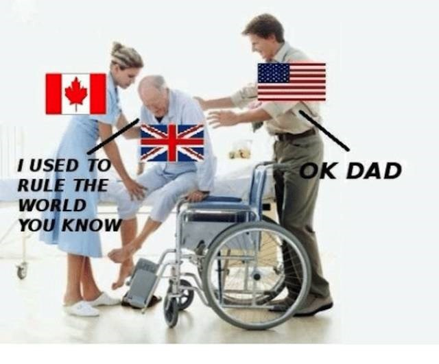 Wheelchair - I USED TO RULE THE WORLD YOU KNOW OK DAD